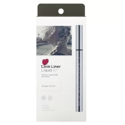 日本MSH LOVE LINER 随心所欲持久不晕染极细防水眼线液笔 #Grege Brown银灰棕 0.55ml