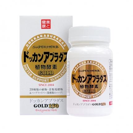 日本DOKKAN 植物酵素 150粒
