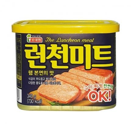 乐天 午餐肉 340g