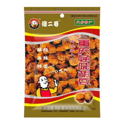 傻二哥 重庆怪味胡豆 102g