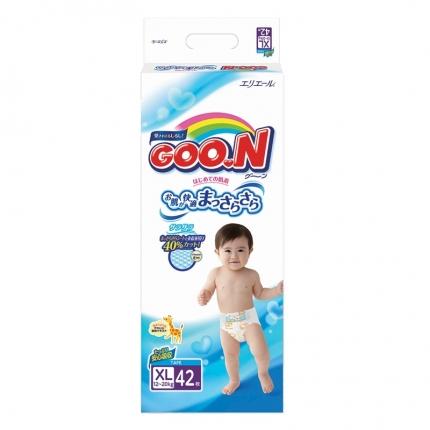 日本GOO.N大王 婴儿纸尿裤 XL号 42片