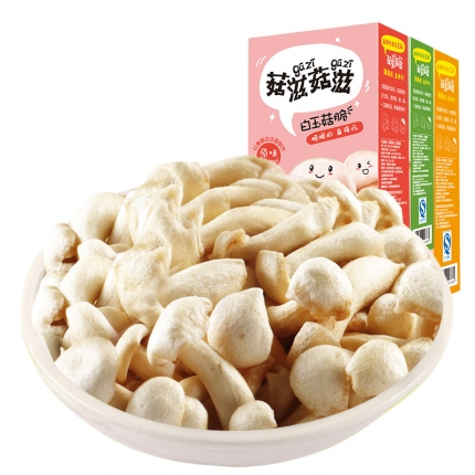 菇滋菇滋 白玉菇脆  30g 内含2小袋独立包装