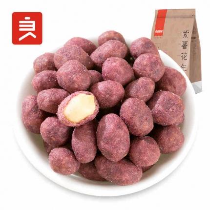 良品铺子 紫薯花生 120g