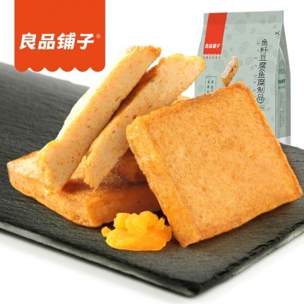 良品铺子 鱼籽豆腐 香辣味 120g
