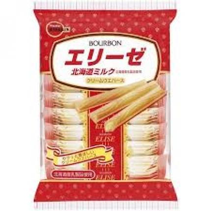 日本BOURBON波路梦 北海道风味饼干 64.8g
