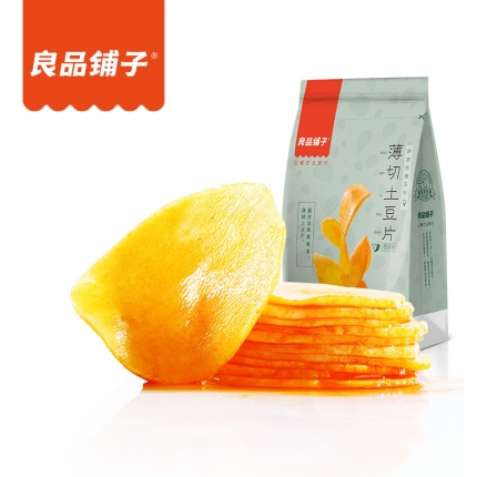 良品铺子 薄切土豆片 香辣味 205g