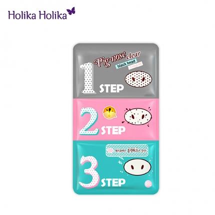 韩国HOLIKA HOLIKA 去黑头猪鼻贴三部曲 单片装