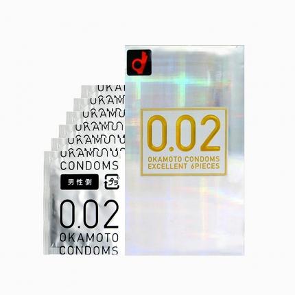 冈本 002 EX系列 标准号 6只入
