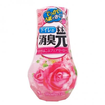 日本KOBAYASHI小林制药 消臭元空气清新剂 卫浴专用 玫瑰花香 400ml