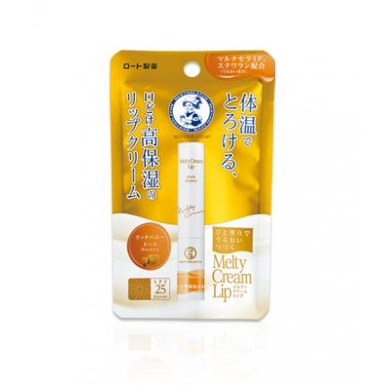 日本ROHTO乐敦 体温融合高保湿唇膏 SPF25 2.4g 红标蜂蜜
