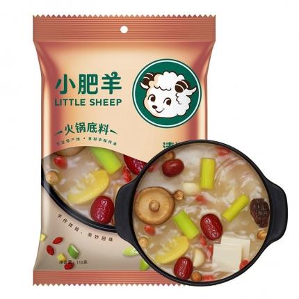 小肥羊 清汤火锅底料 袋装 110g