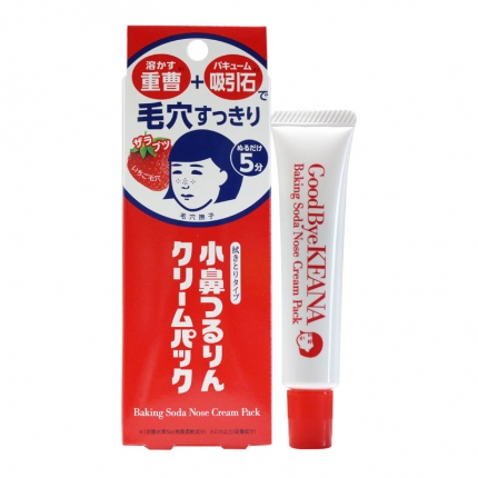 日本ISHIZAWA LAB石泽研究所 毛穴抚子小苏打去黑头净滑鼻膜霜 擦拭型 15g