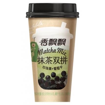 香飘飘 珍珠系 抹茶双拼奶茶 85g
