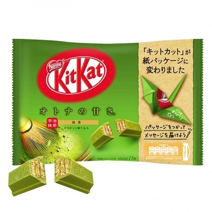 日本Nestle雀巢 KITKAT 抹茶巧克力威化饼 13枚独立包装