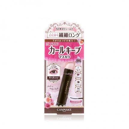 日本CANMAKE井田 闪翘持久睫毛膏 纤长 巧克力色 4g