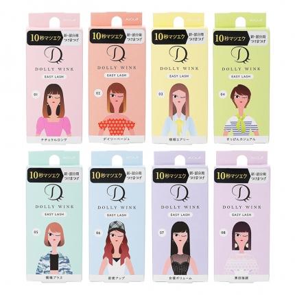 日本KOJI Dolly Wink EASY LASH 局部专用假睫毛 多款选