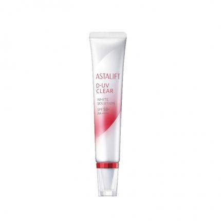日本ASTALIFT艾诗缇 D-UV CLEAR 白澄完美防晒隔离精华液 30g