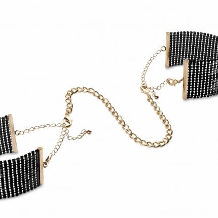 西班牙Bijoux Indiscrets 高端金属质感 手镯手铐 黑色