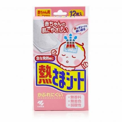 日本KOBAYASHI小林制药 婴幼儿退热贴 0-2岁用 16片入