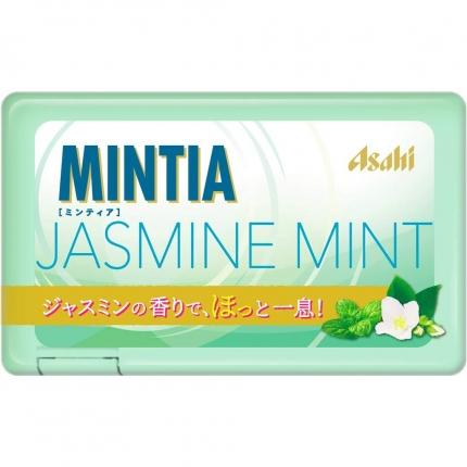 日本Asahi MINTIA JASMINE MINT 茉莉薄荷糖 7g 50粒入