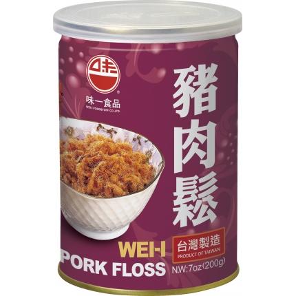 台湾味一食品 猪肉松 易开罐 200g