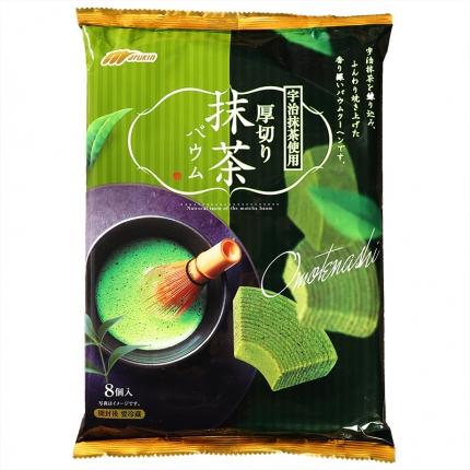 日本MARUKIN玛露肯 抹茶厚切年轮蛋糕 8个入