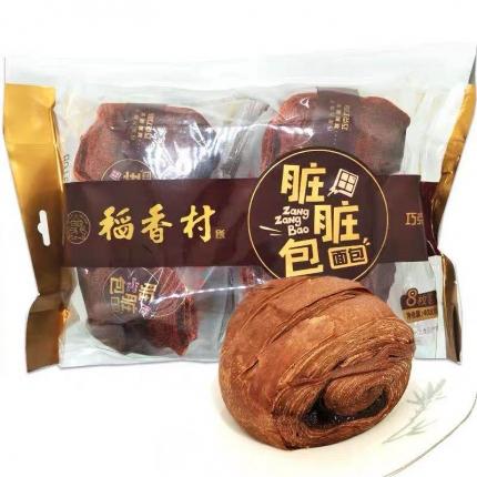 稻香村 脏脏包 巧克力味 408g 8枚入