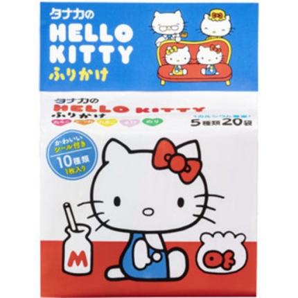 日本TANAKA田中 Hello Kitty宝宝高钙拌饭料 5种口味混合 20袋入