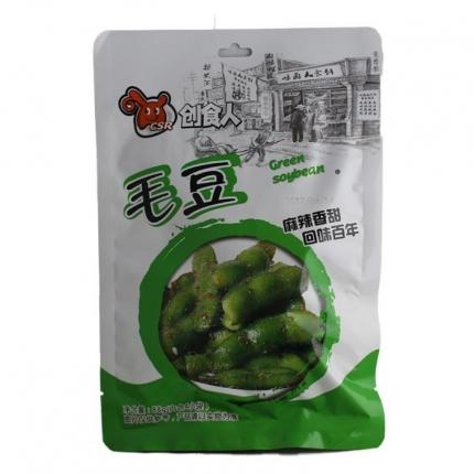 创食人 麻辣毛豆 88g