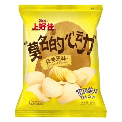 OISHI上好佳 田园薯片 原味 80g